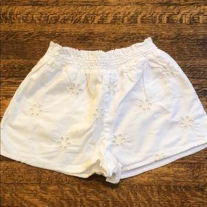Baby gap white eyelet shorts